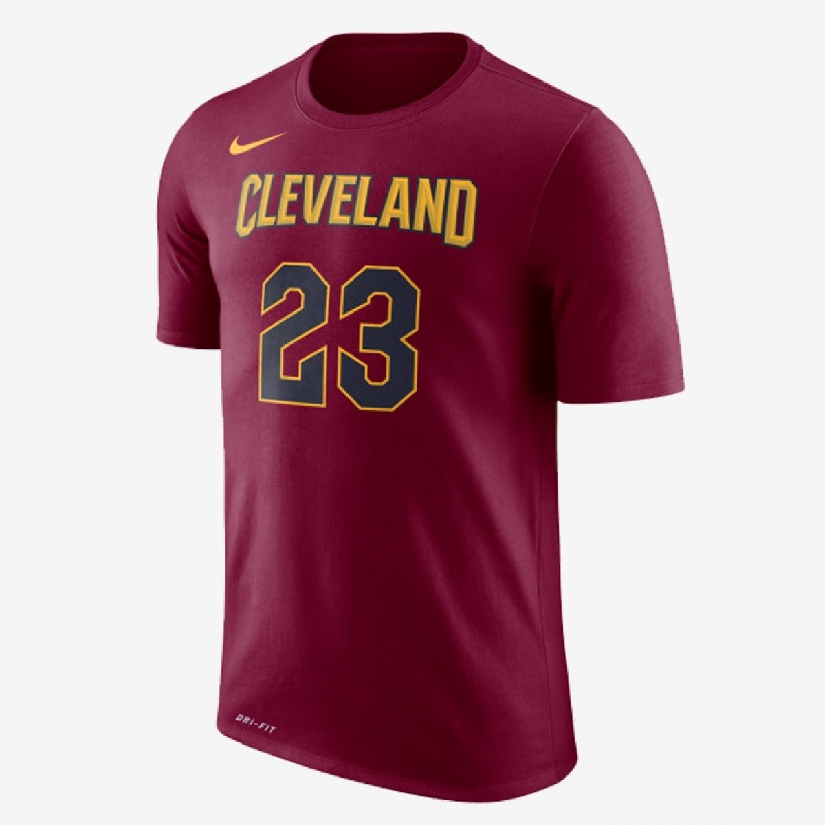 Nike Junior NBA Cleveland Cavaliers Nick Name Tee James 'City Edition'