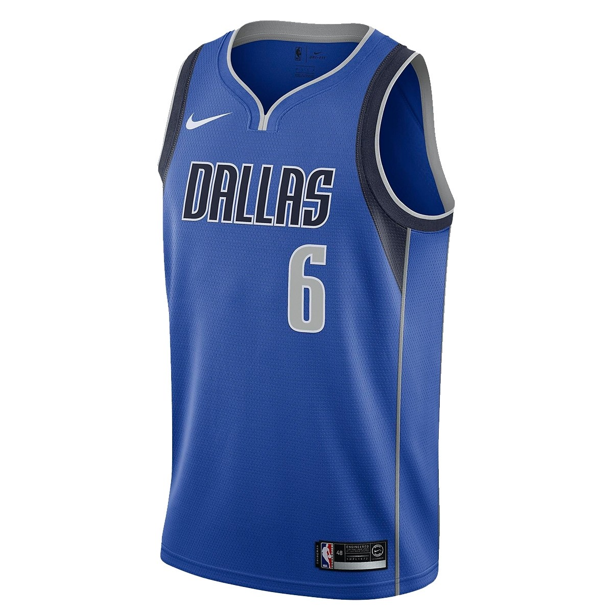Nike Junior NBA Dallas Swingman Porzingis Jersey 'Icon Edition'