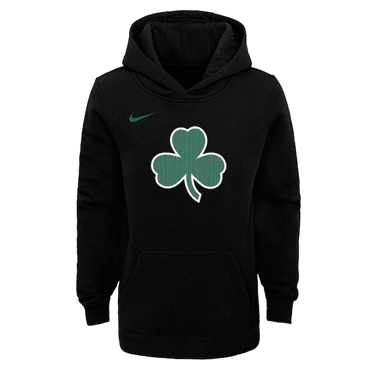 Nike Junior NBA Hoodie Boston 'Black'