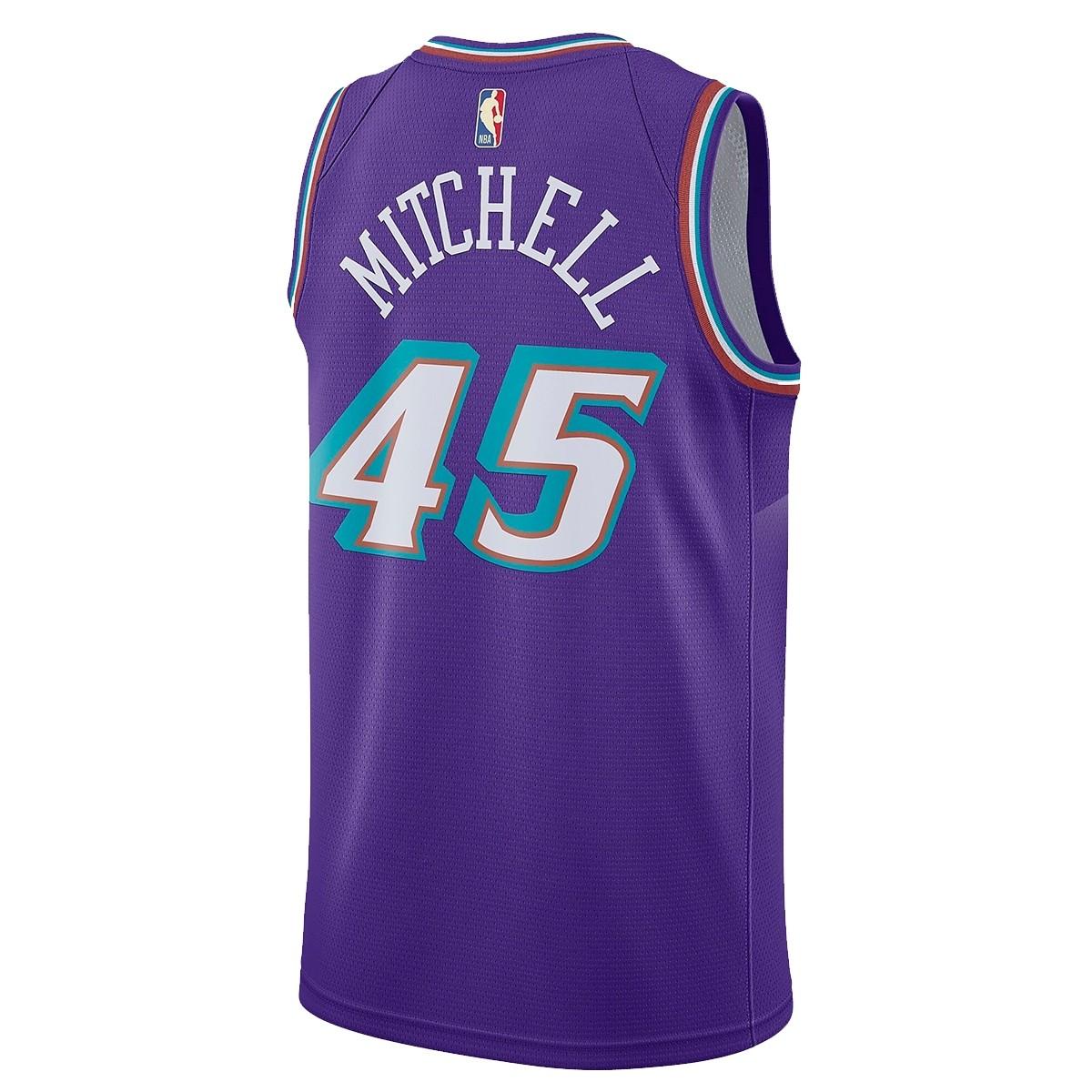 Nike Junior NBA Jazz Swingman Jersey Mitchell 'Classic Edition'-EZ2B7B1FP-UJDM
