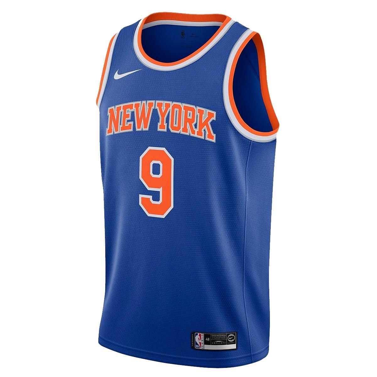 Nike Junior NBA Knicks Swingman Jersey Barrett 'Icon Edition'