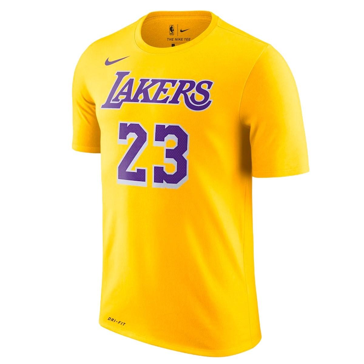 Nike Junior NBA Lakers Nick Name Tee James 'Icon Edition'