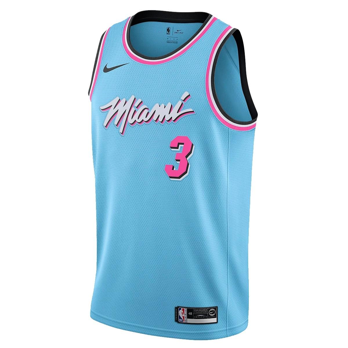Nike Junior NBA Miami Swingman Jersey Wade 'City Edition'