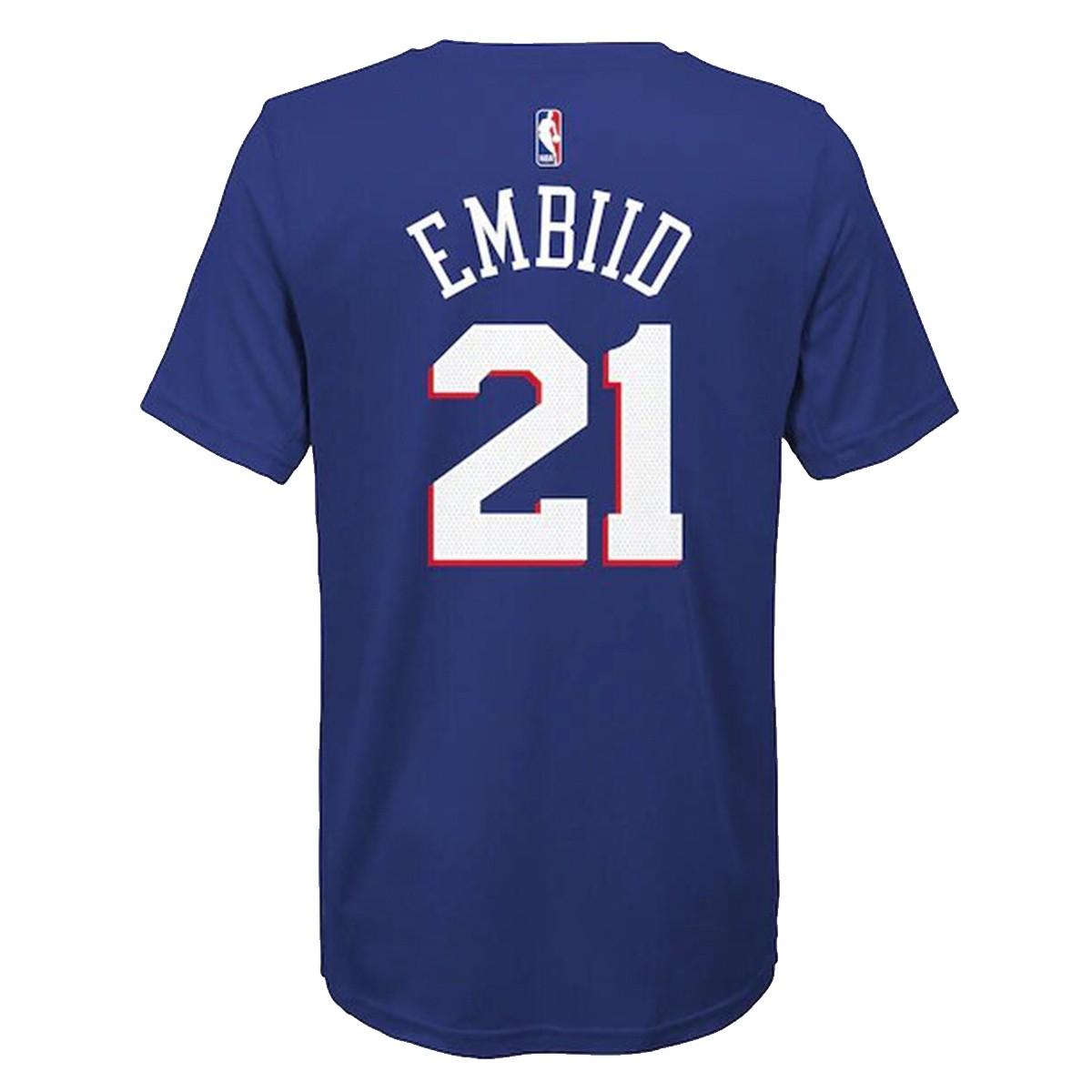 Nike Junior NBA Sixers Nick Name Tee Embiid 'Icon Edition'-EZ2B711F1-PSJEI