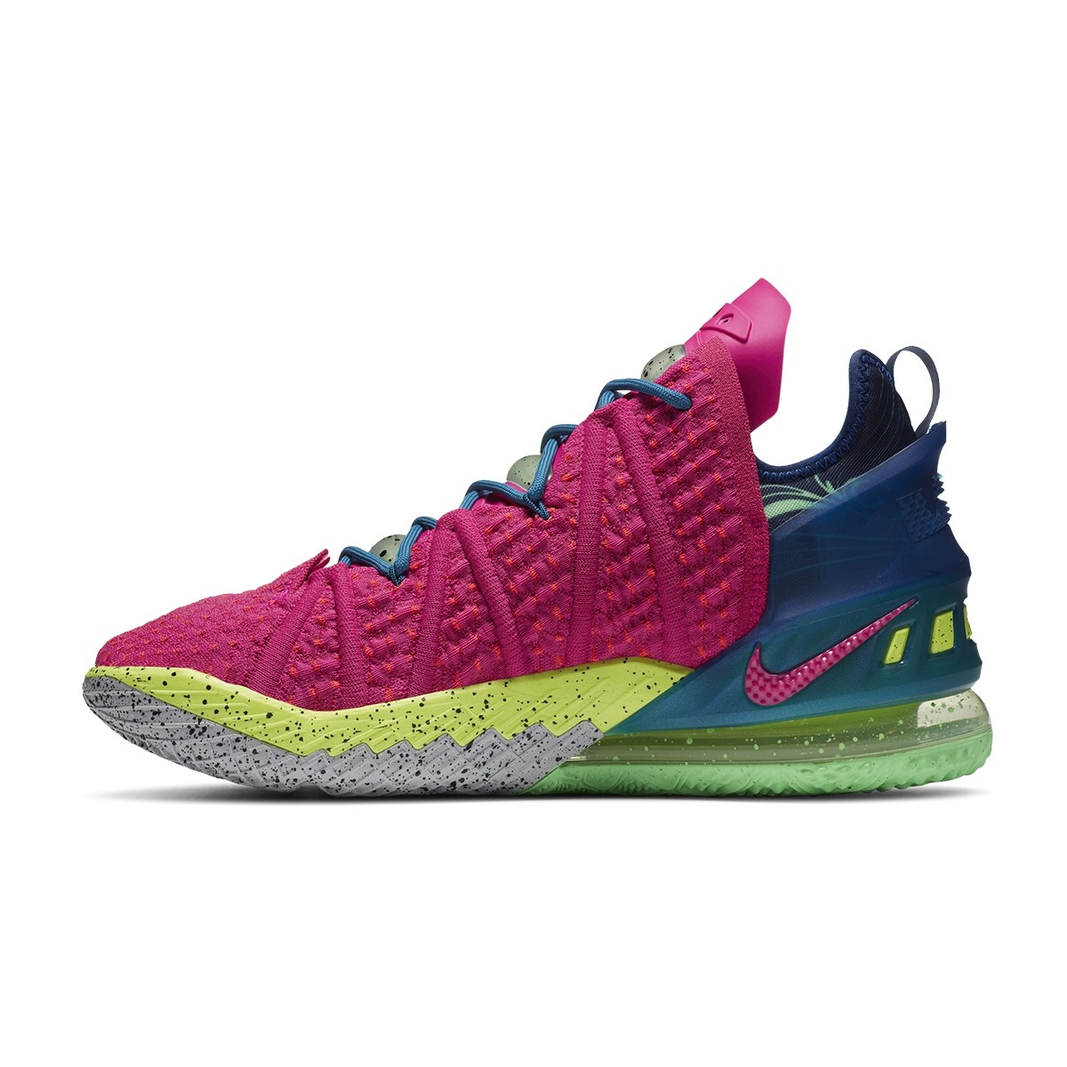 Nike LeBron 18 'Los Angeles By Night'-DB8148-600