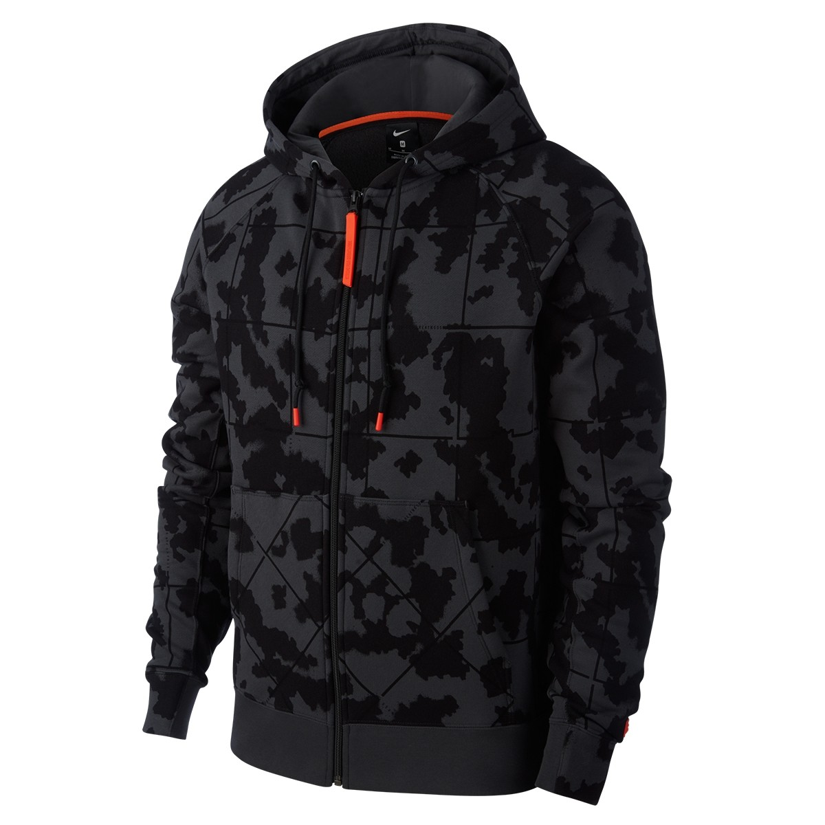 Nike Lebron Hoodie Fleece 'Black Camo'-AT3913-060