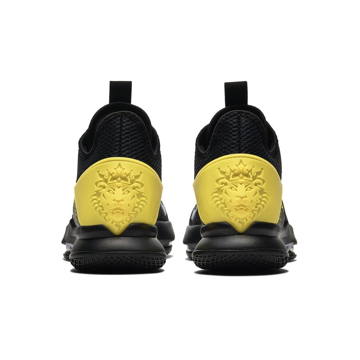 Nike Lebron Witness IV Jr  'Black Lakers'-BV7427-004-Jr
