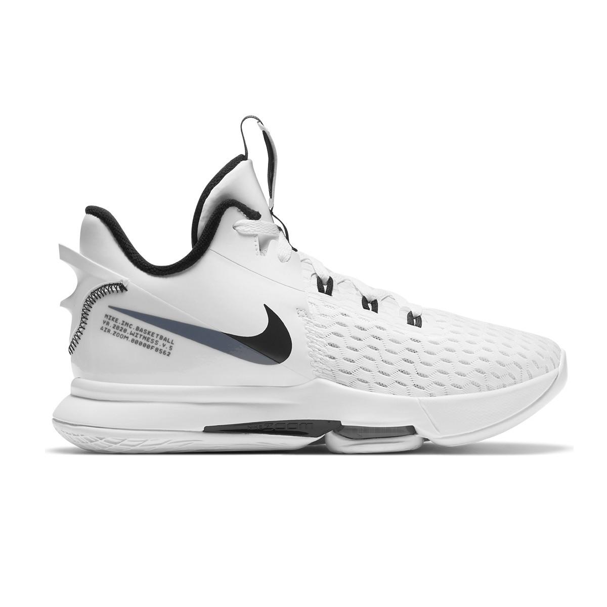 Nike Lebron Witness V Jr 'Team White'