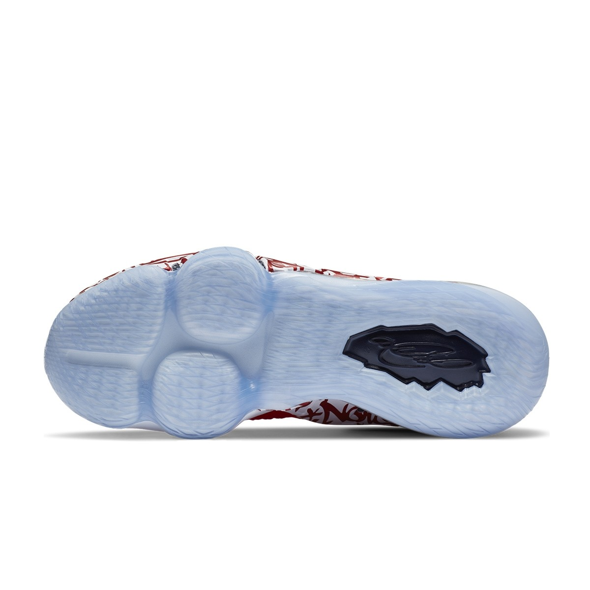 Nike Lebron XVII FP 'Gaffiti Remix Red'-CT6047-600