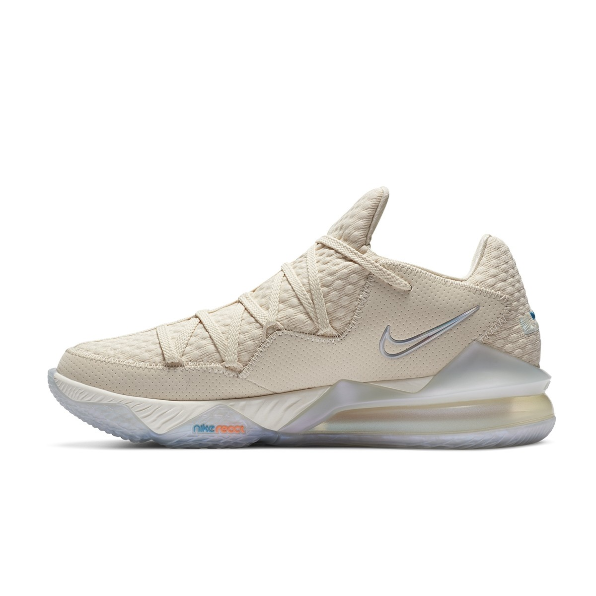 Nike Lebron XVII Low 'Light Cream'-CD5007-200