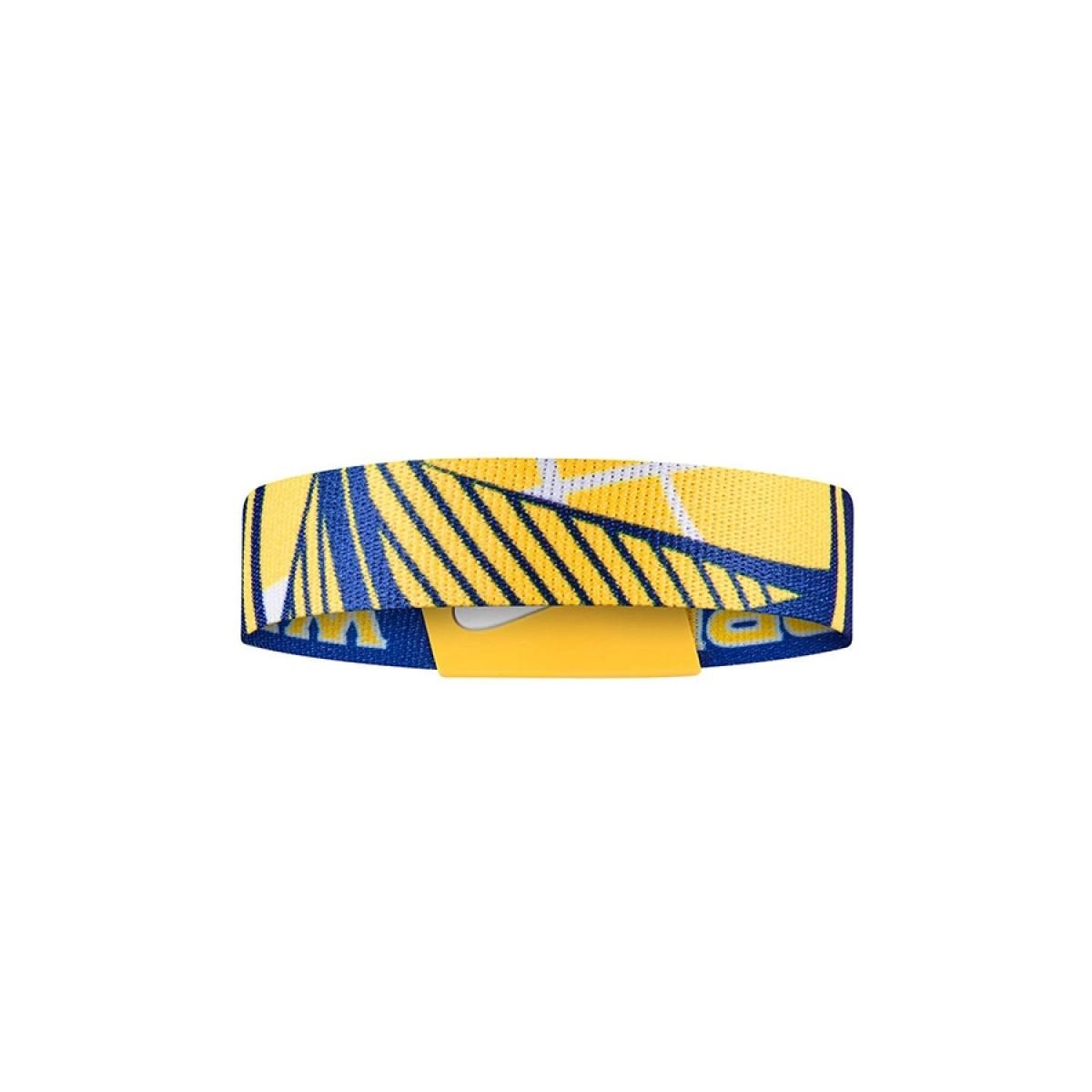 Nike NBA Baller Bands GS Warriors 'Blue'-N1000562488