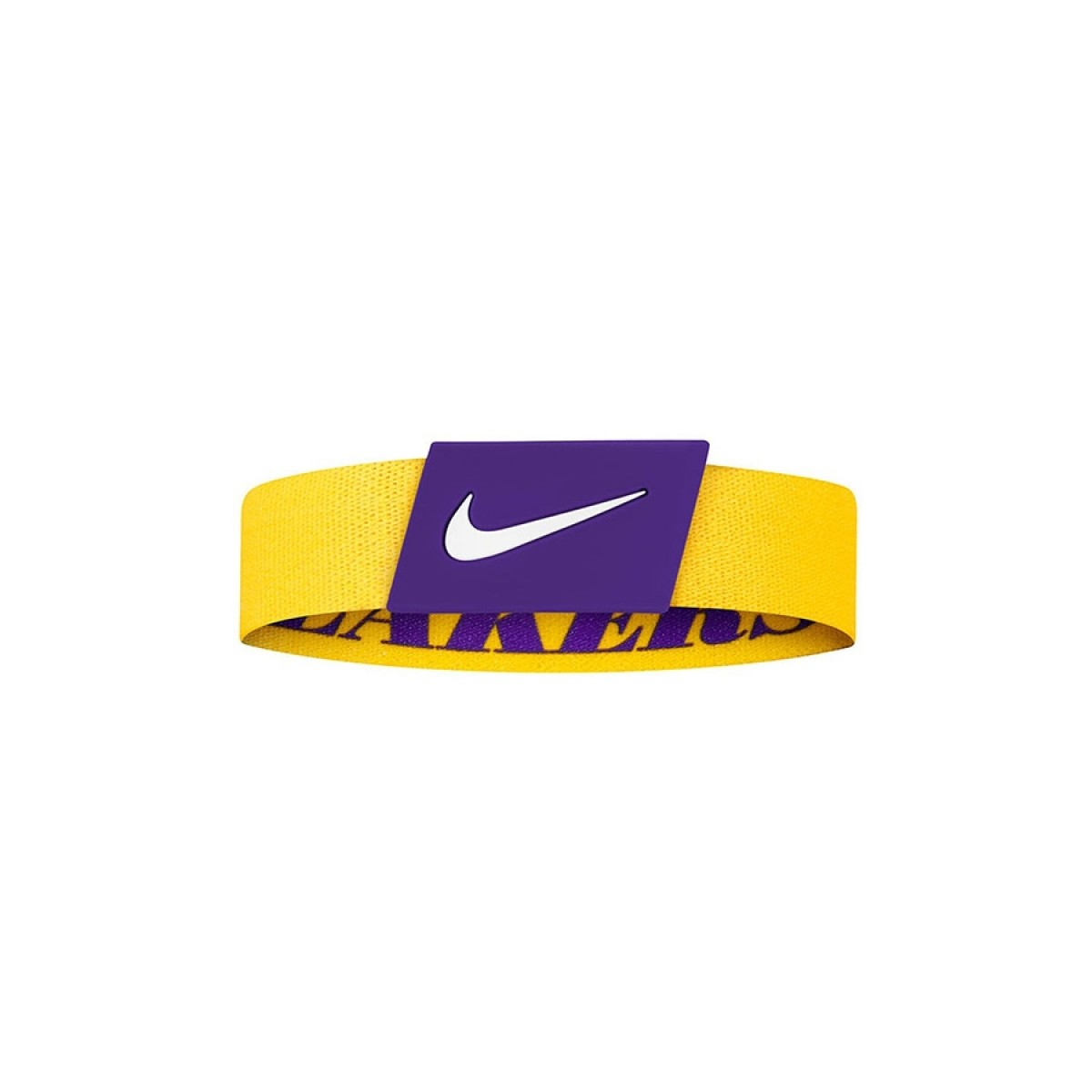 Nike NBA Baller Bands LA Lakers 'Yellow'-N1000539760