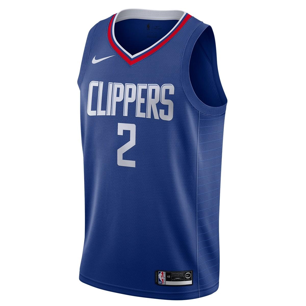 Nike NBA Clippers Swingman Jersey Kawhi Leonard 'Icon Edition'