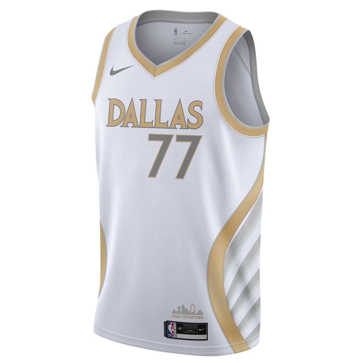 Nike NBA Dallas Mavericks Swingman Jersey Luka Doncic 'City Edition'