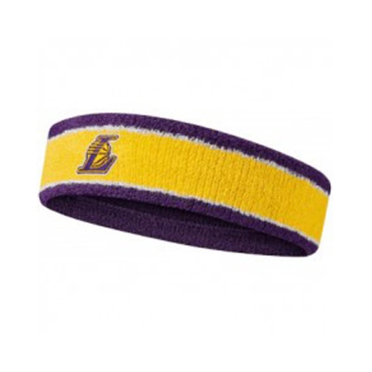 Nike NBA Headband LA Lakers 'Yellow'