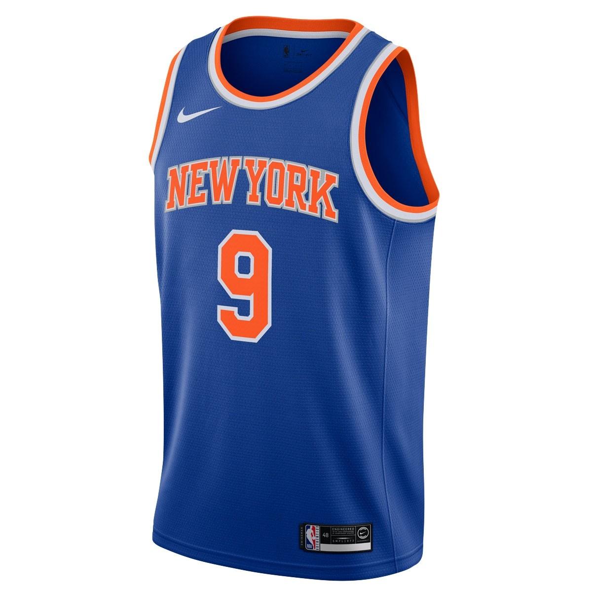 Nike NBA Knicks Swingman Jersey Rj Barrett 'Icon Edition'