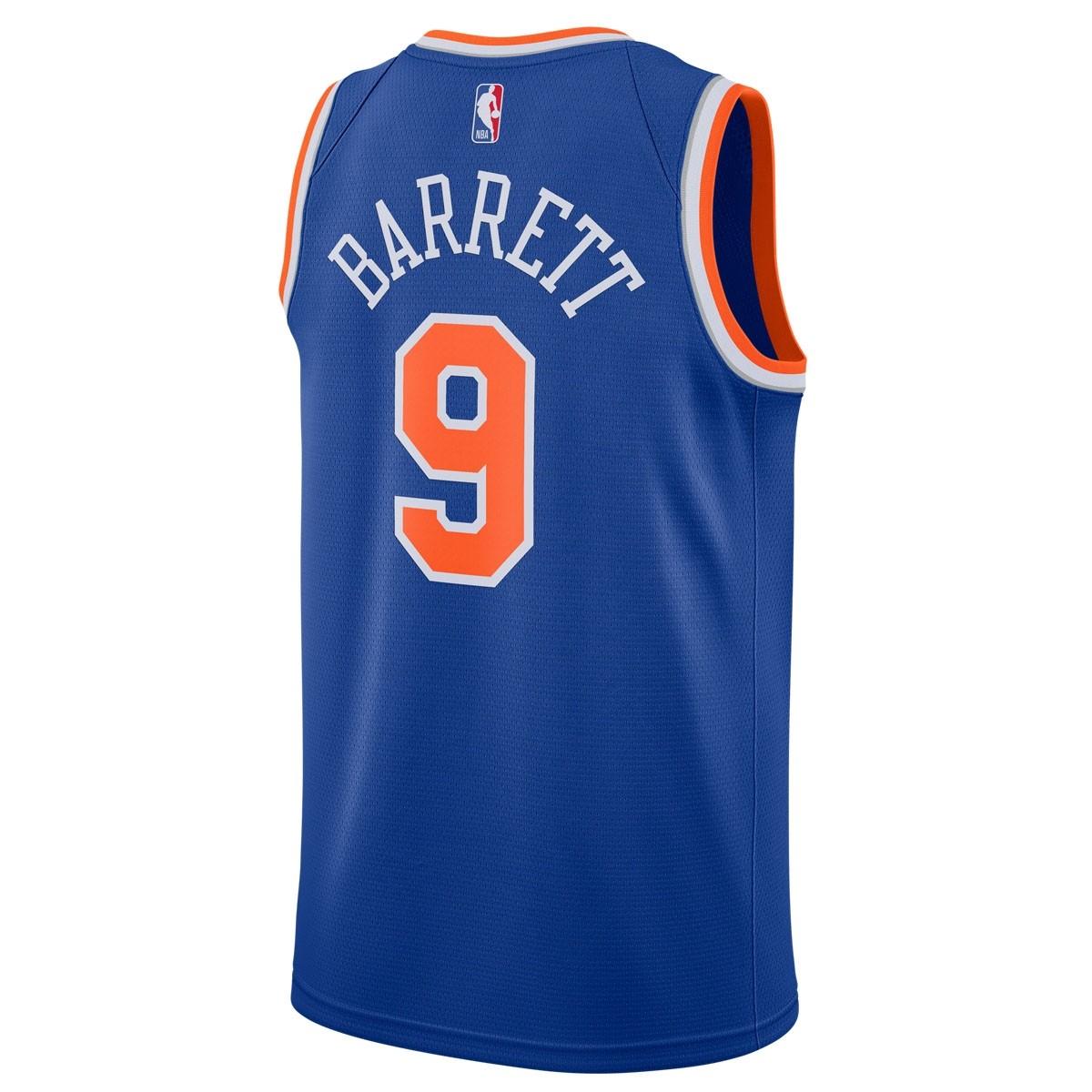Nike NBA Knicks Swingman Jersey Rj Barrett 'Icon Edition' 864495-405