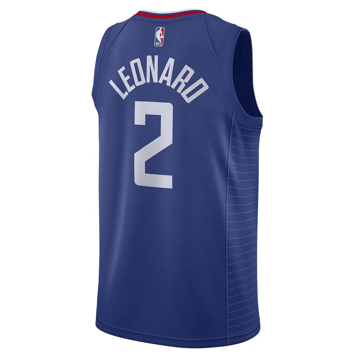 Nike NBA Los Angeles Clippers Swingman Jersey Kawhi Leonard 'Icon Edition'-CW3668-402
