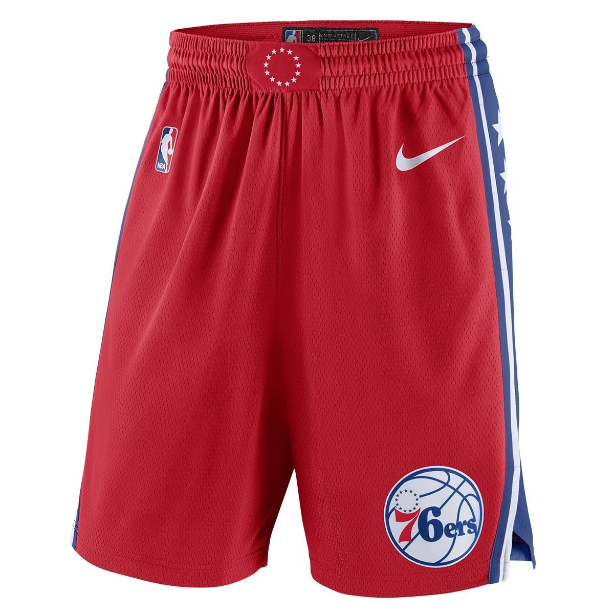 Nike NBA Phila Swingman Short 19/20 'Statement Edition'