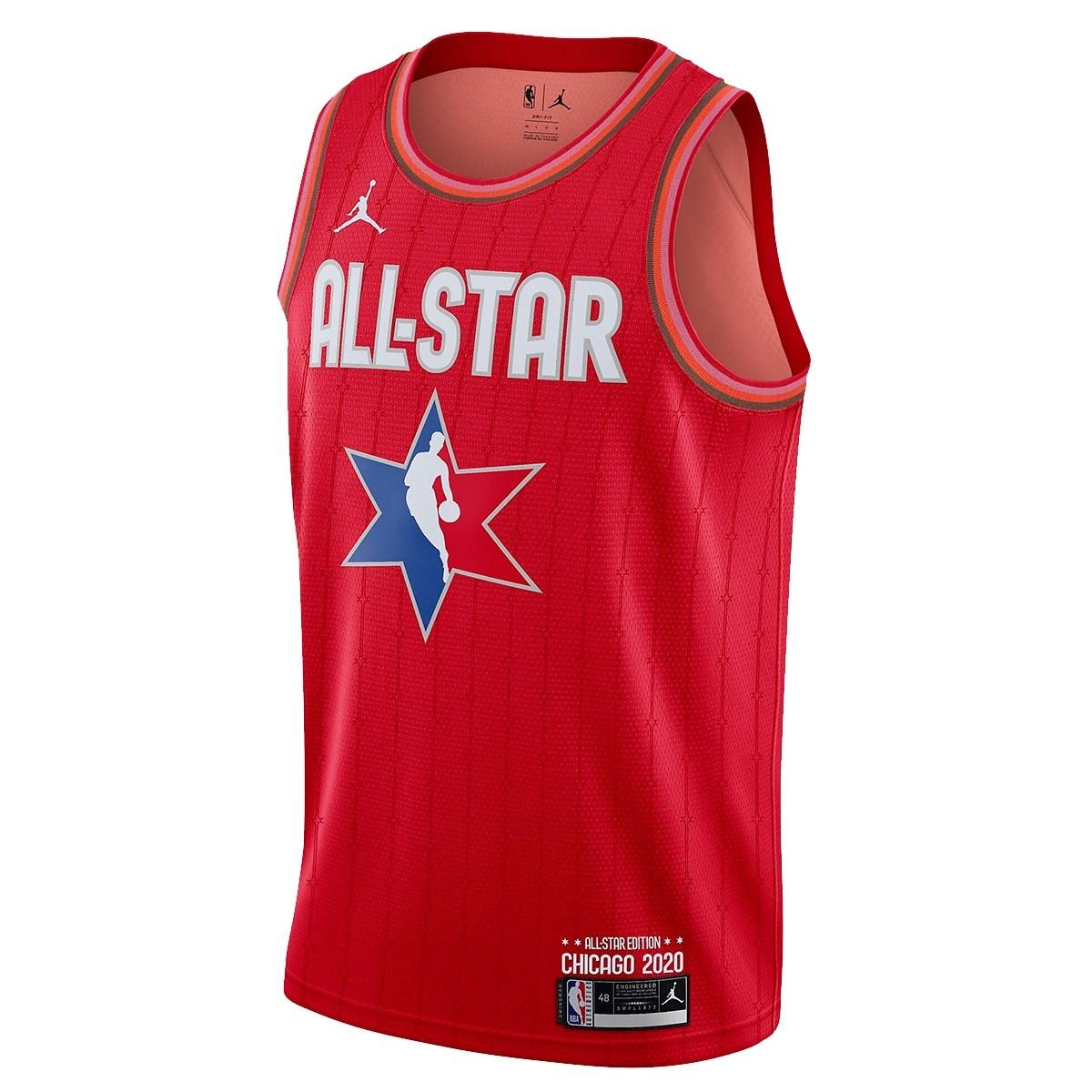 Jordan Junior NBA Swigman ASG Jersey James Harden 'Red'