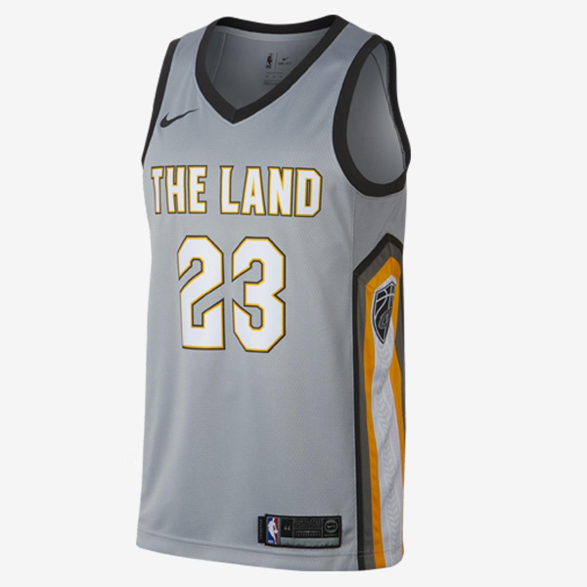 Nike NBA Swingman Jersey Cavs Lebron James 'City Edition'