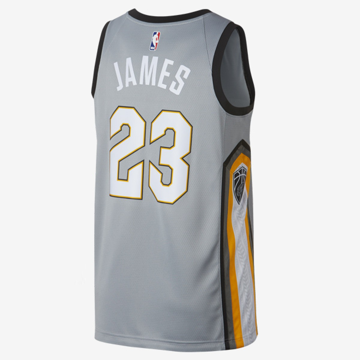 Nike NBA Swingman Jersey Cavs Lebron James 'City Edition' 912087-007