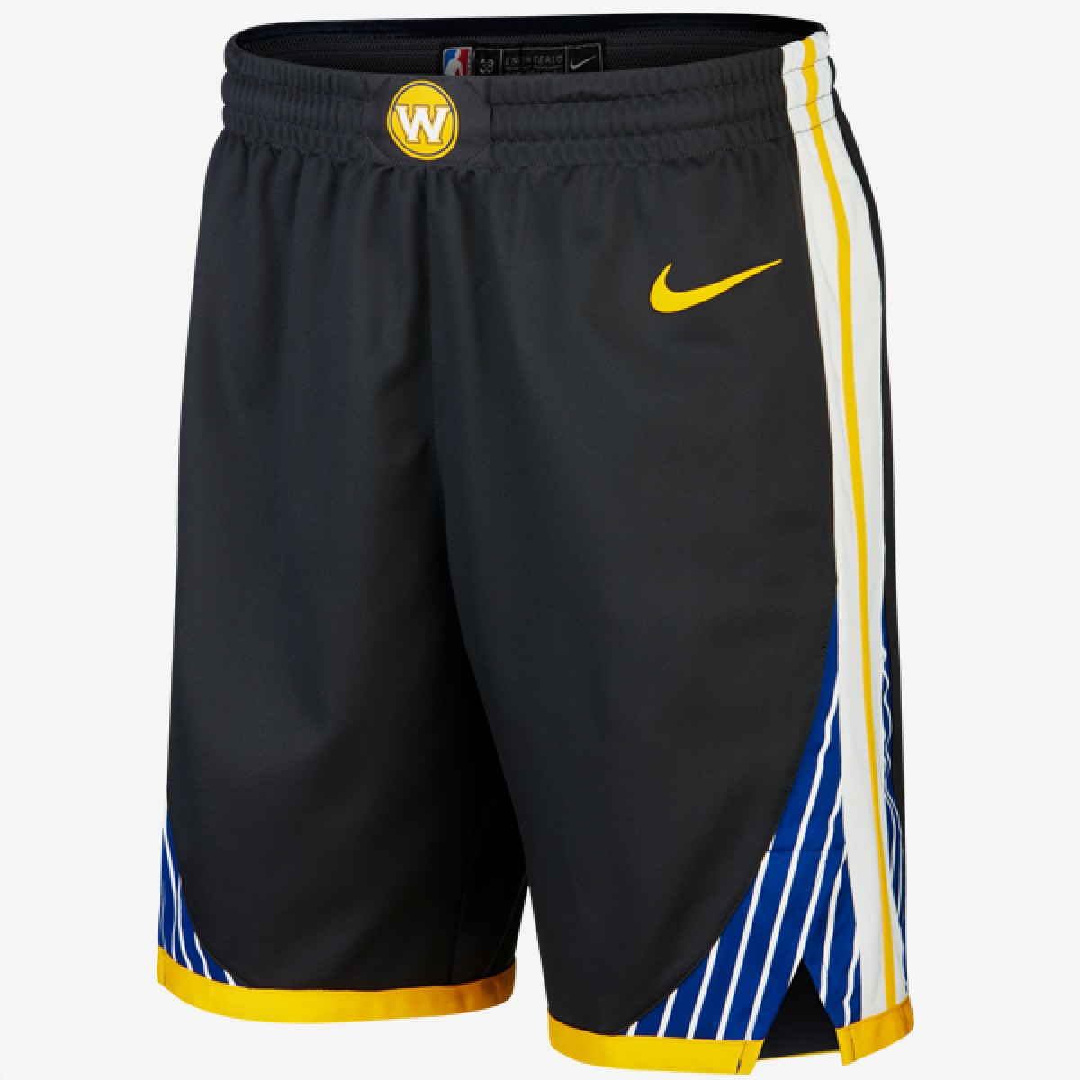 Nike NBA Warriors Authentic Short 'Statement Edition'