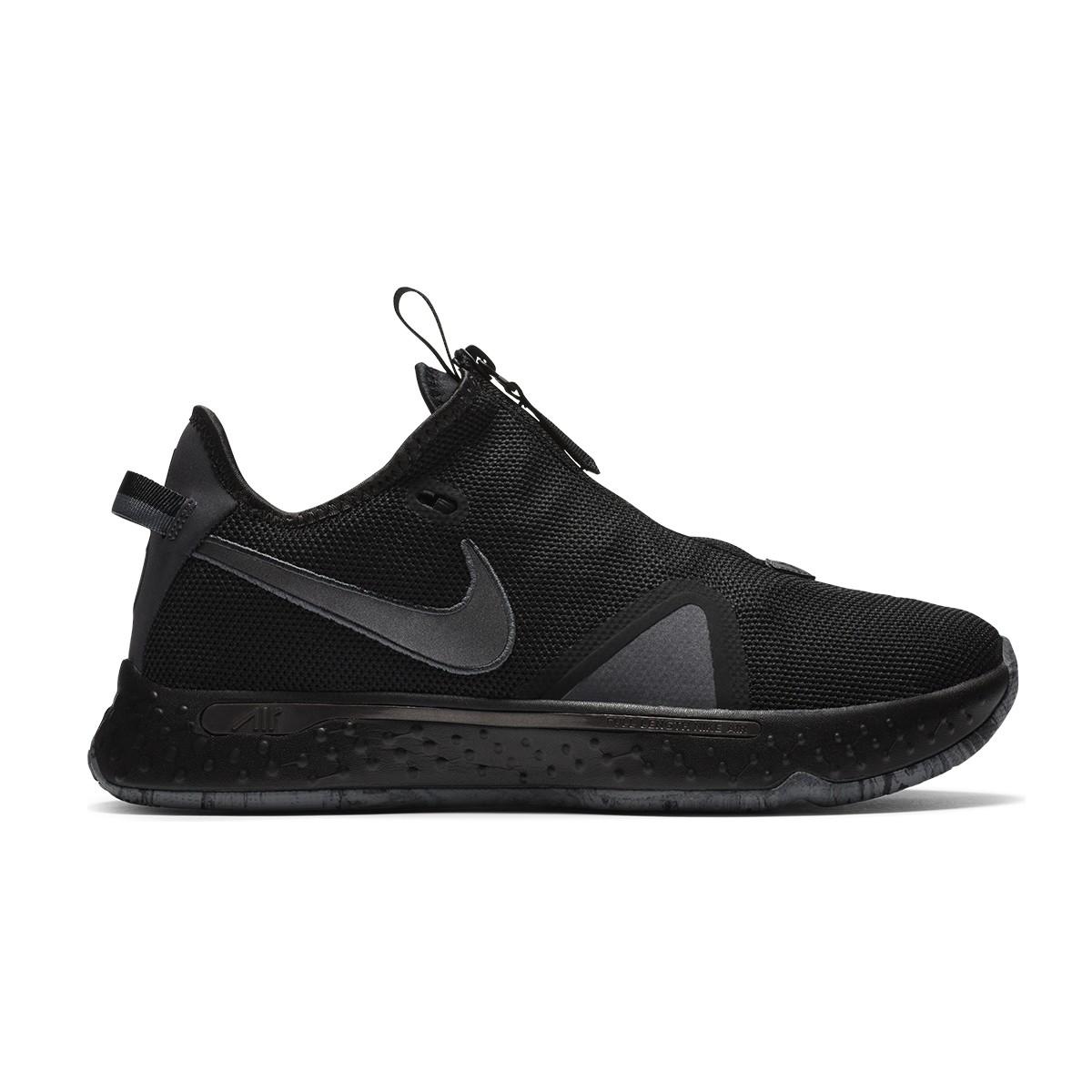 Nike PG 4 GS 'Triple Black'
