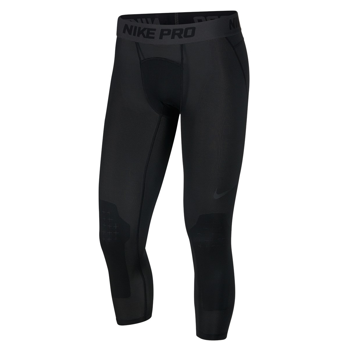 Nike Pro Men's 3/4 Basketball Tights 'Black'