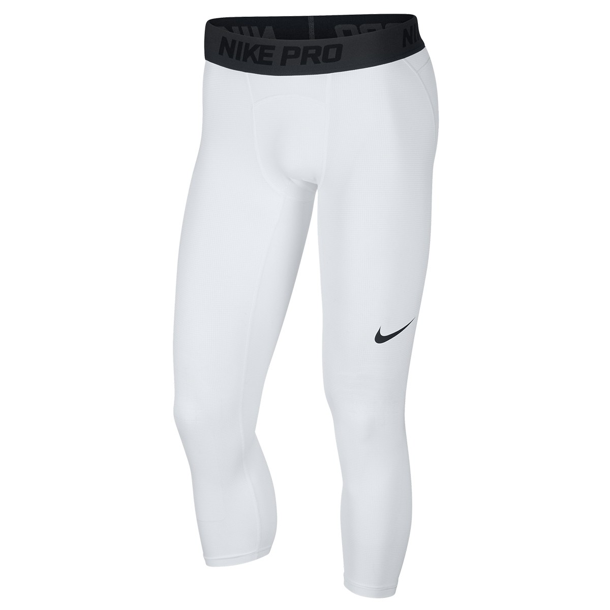Nike Pro Men's 3/4 Basketball Tights 'White'