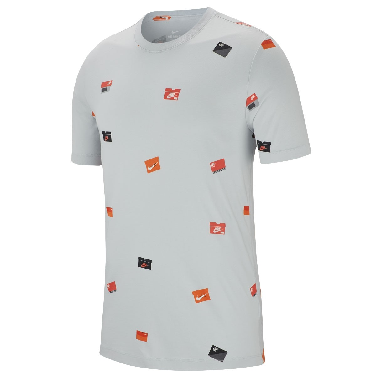 Nike Shoe Box T-shirt 'Grey'