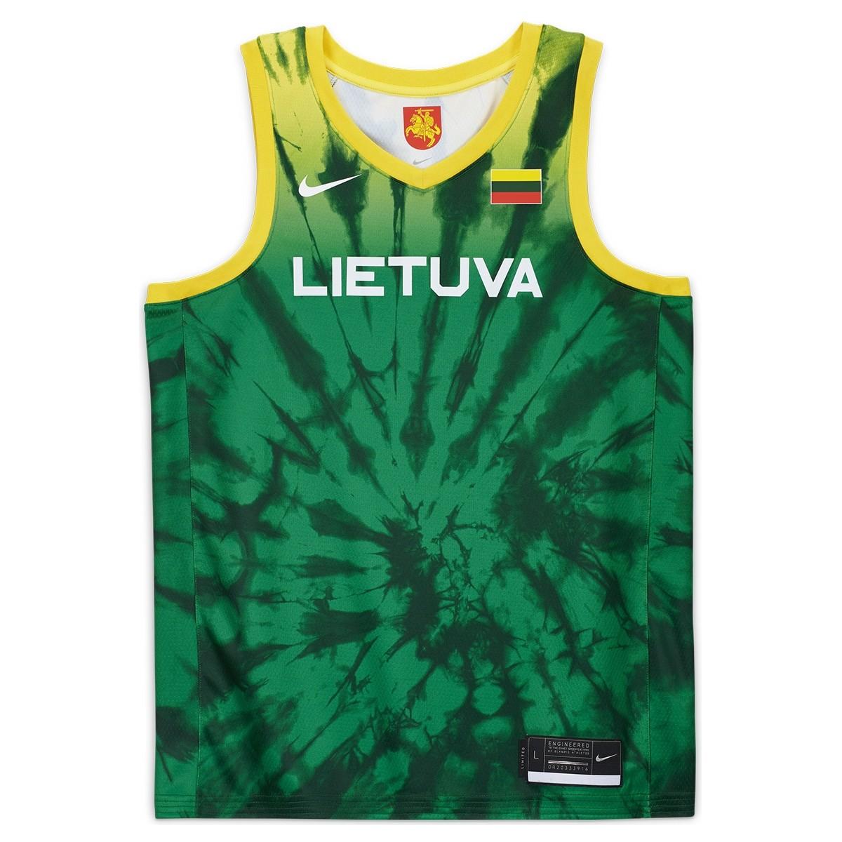 Nike Lituania Olympics Jersey Toyko 2020
