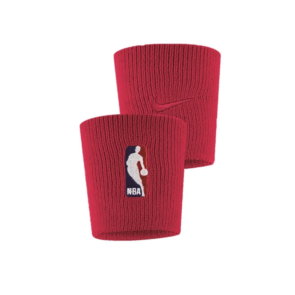 Nike Wristbands NBA 'Red'