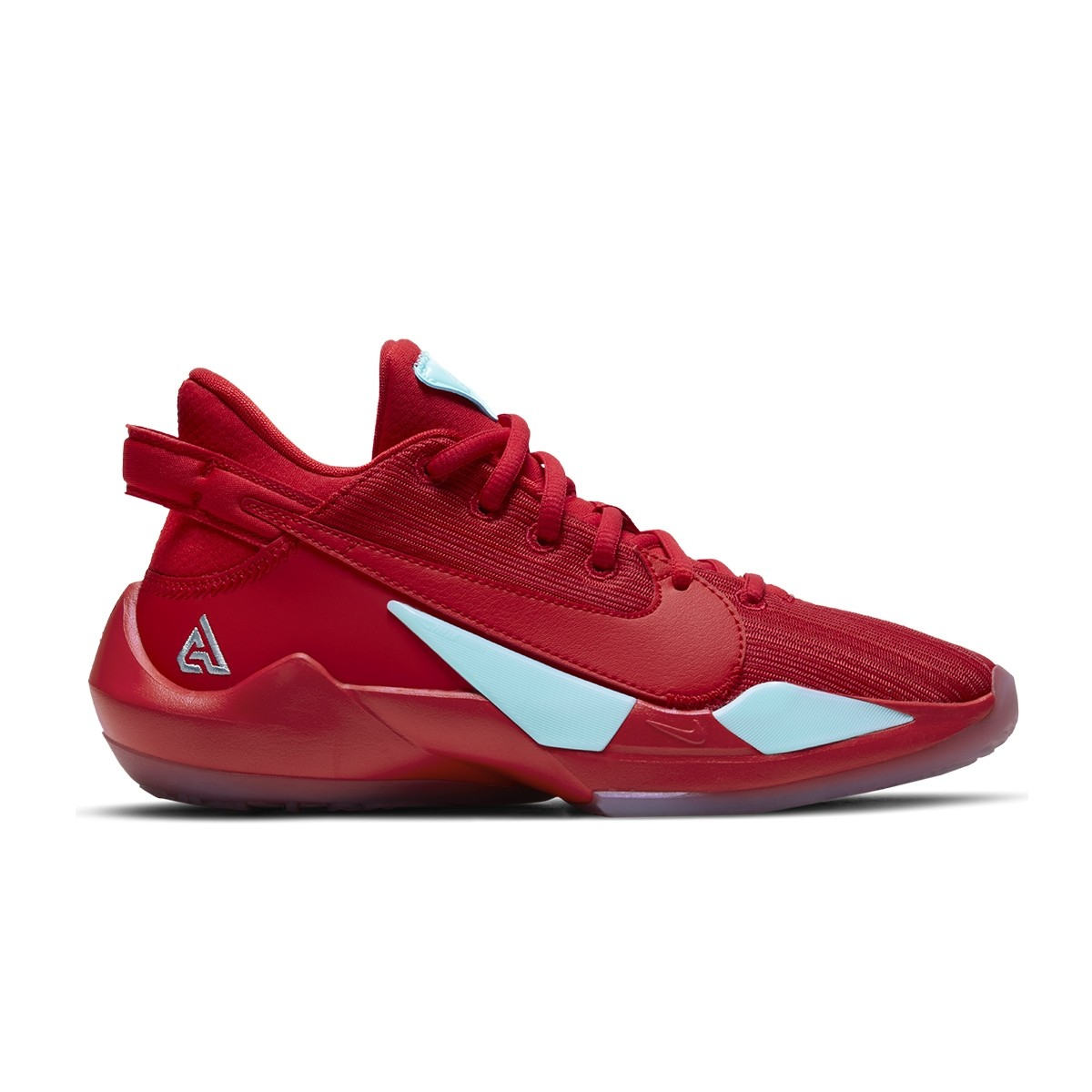 Nike Zoom Freak 2 GS 'Red Glacier Ice'