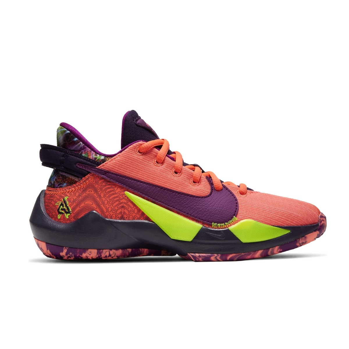 Nike Zoom Freak 2 Jr 'Bright Mango'