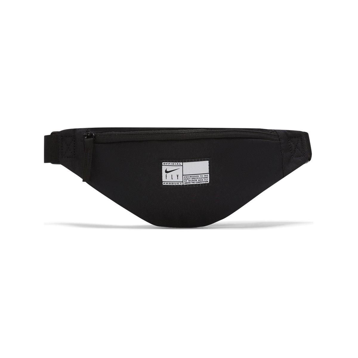 Riñonera Nike Heritage Swoosh Fly 'Black'-DA2275-010