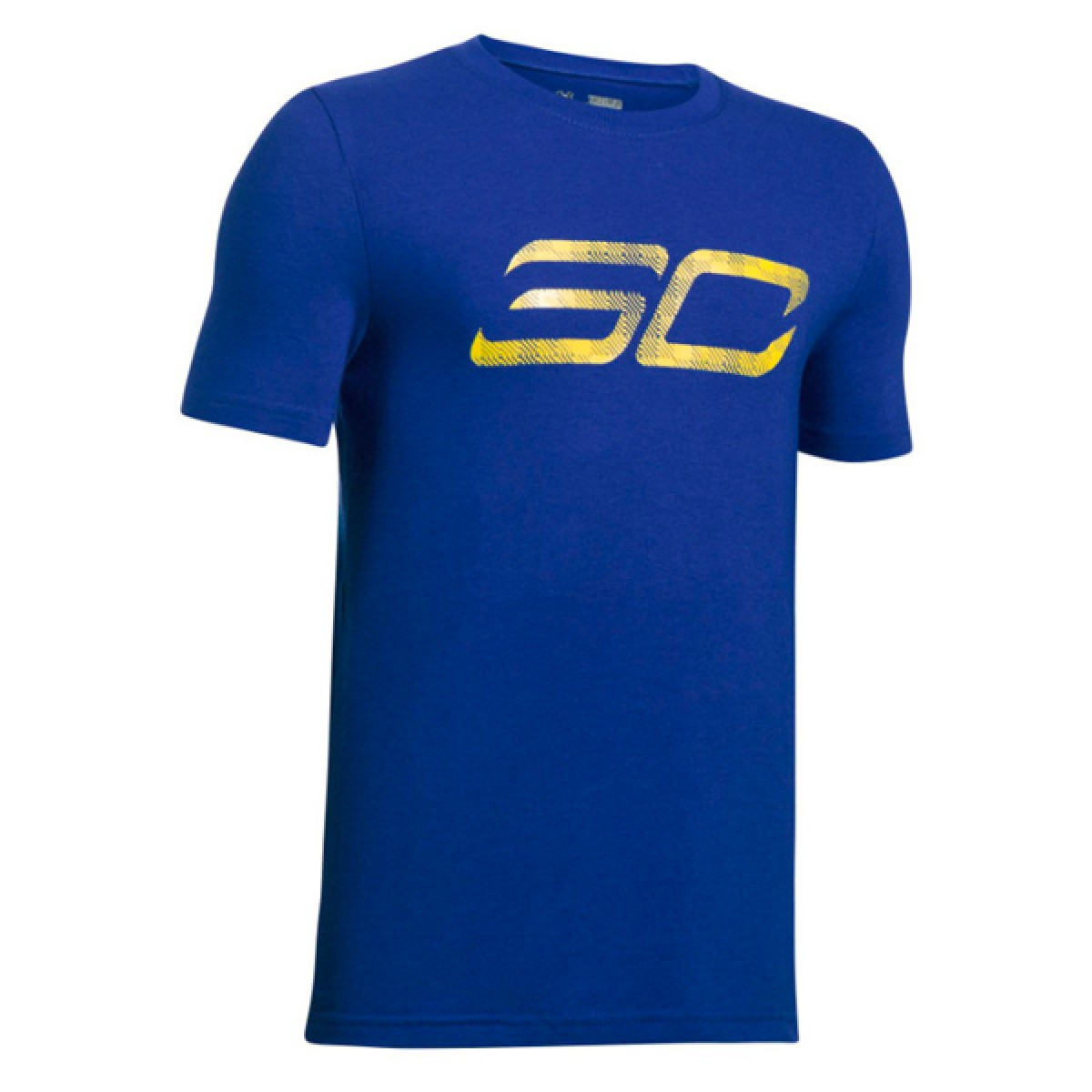 Under Armour SC30 Logo Shirt Jr 'GSW'