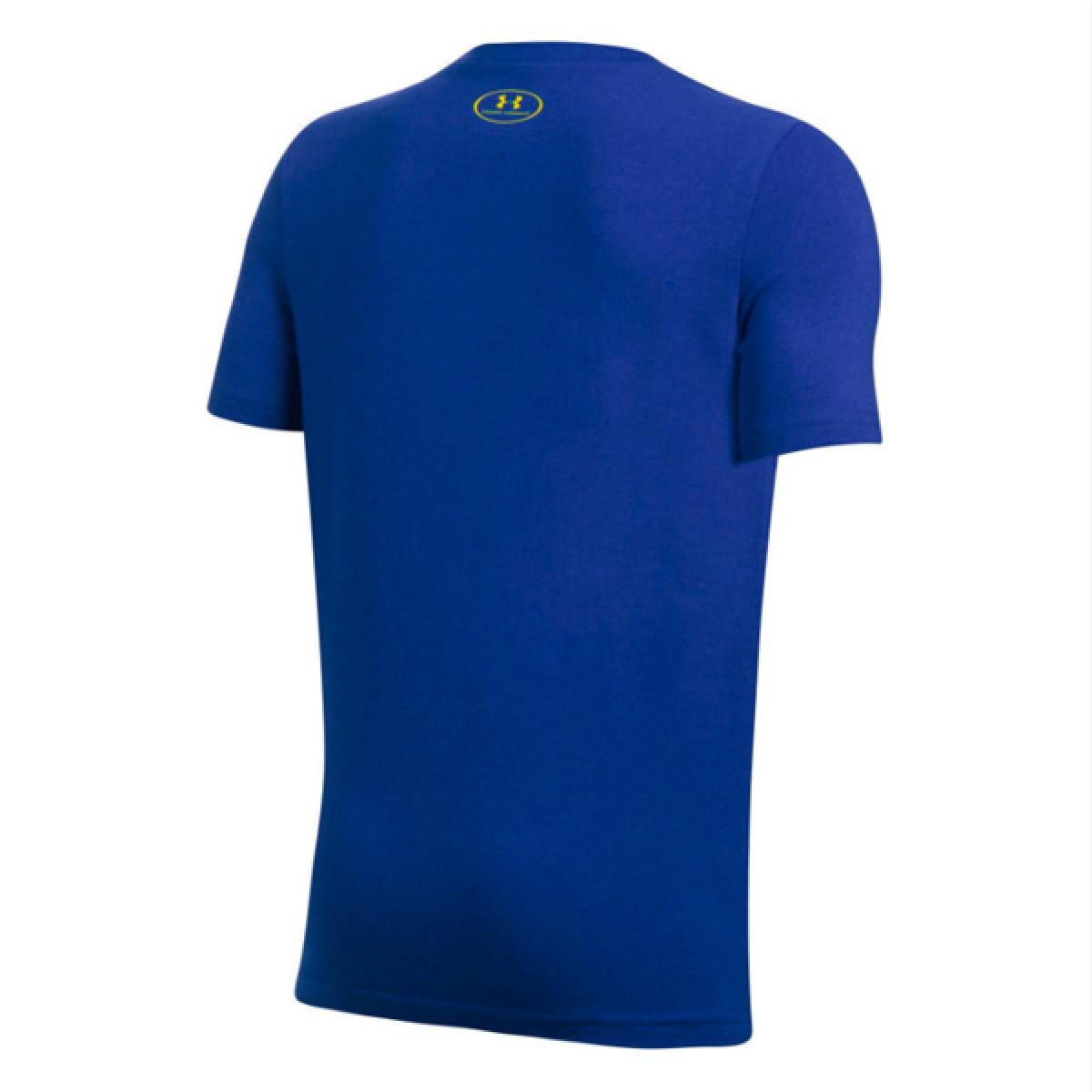 Under Armour SC30 Logo Shirt 'GSW' 1298278-400