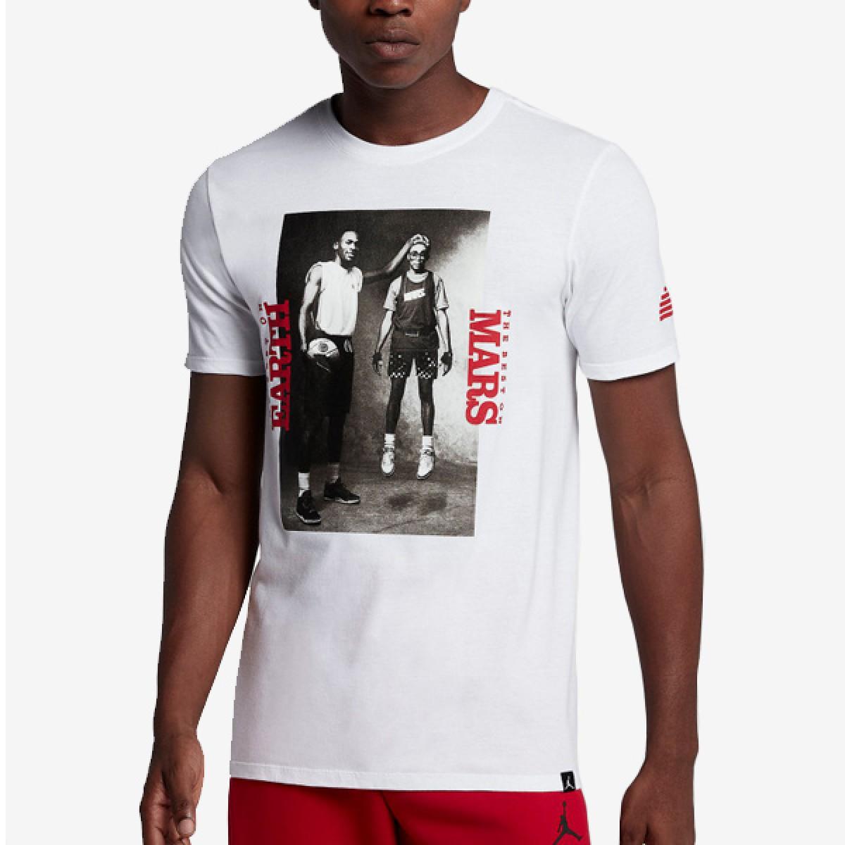 Jordan Mars Blackmon Photo T-Shirt 'White'