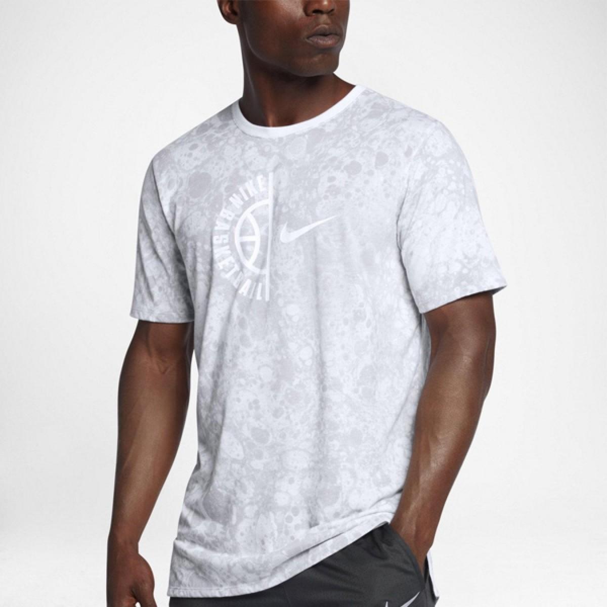 Nike Dry Basketball T-Shirt 'Grey' 857930-100