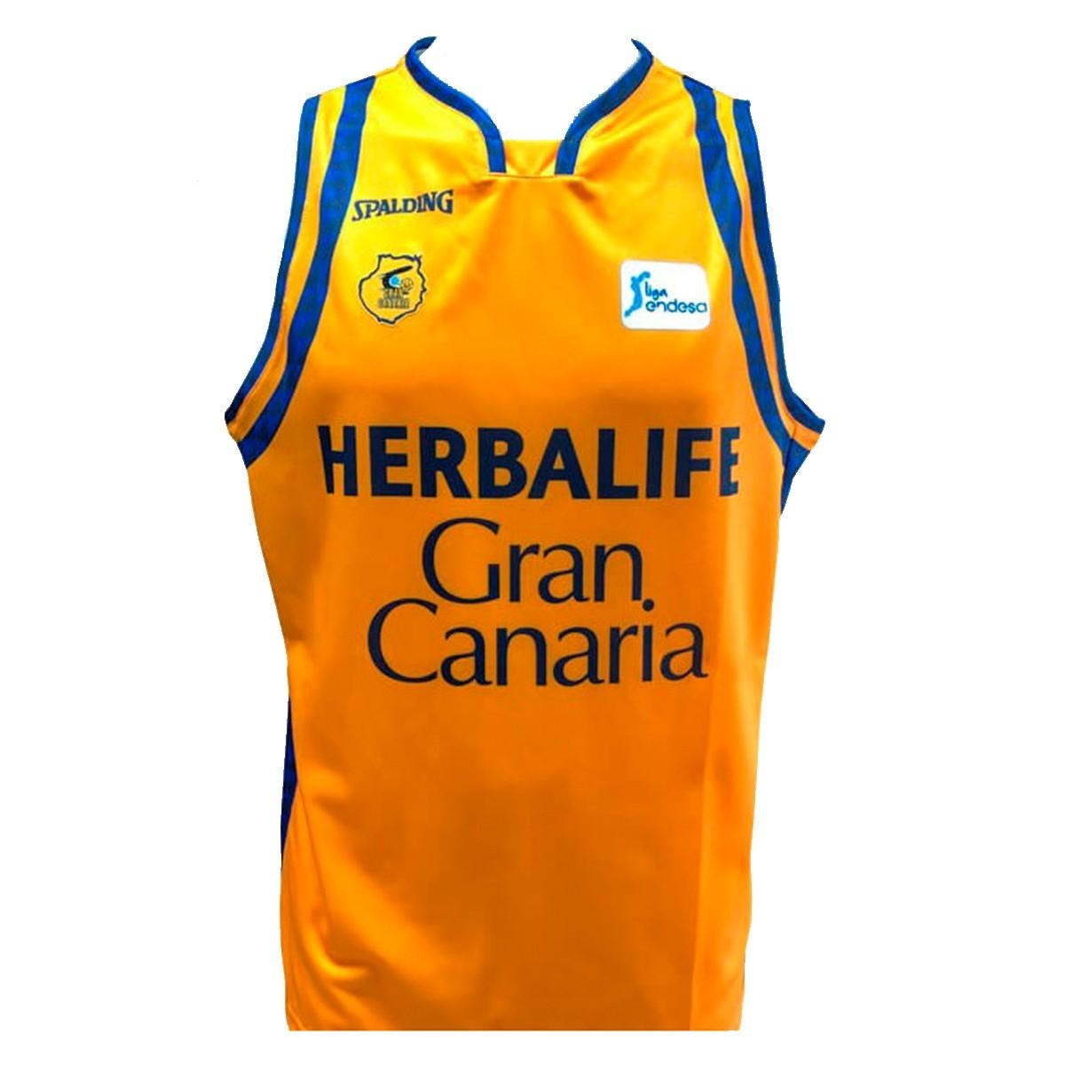 Spalding Gran Canaria Jersey 1ª Equipación