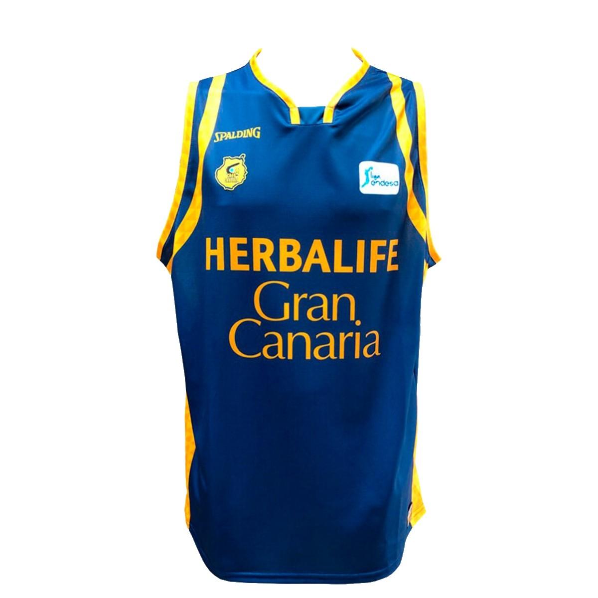 Spalding Gran Canaria Jersey 2ª Equipación