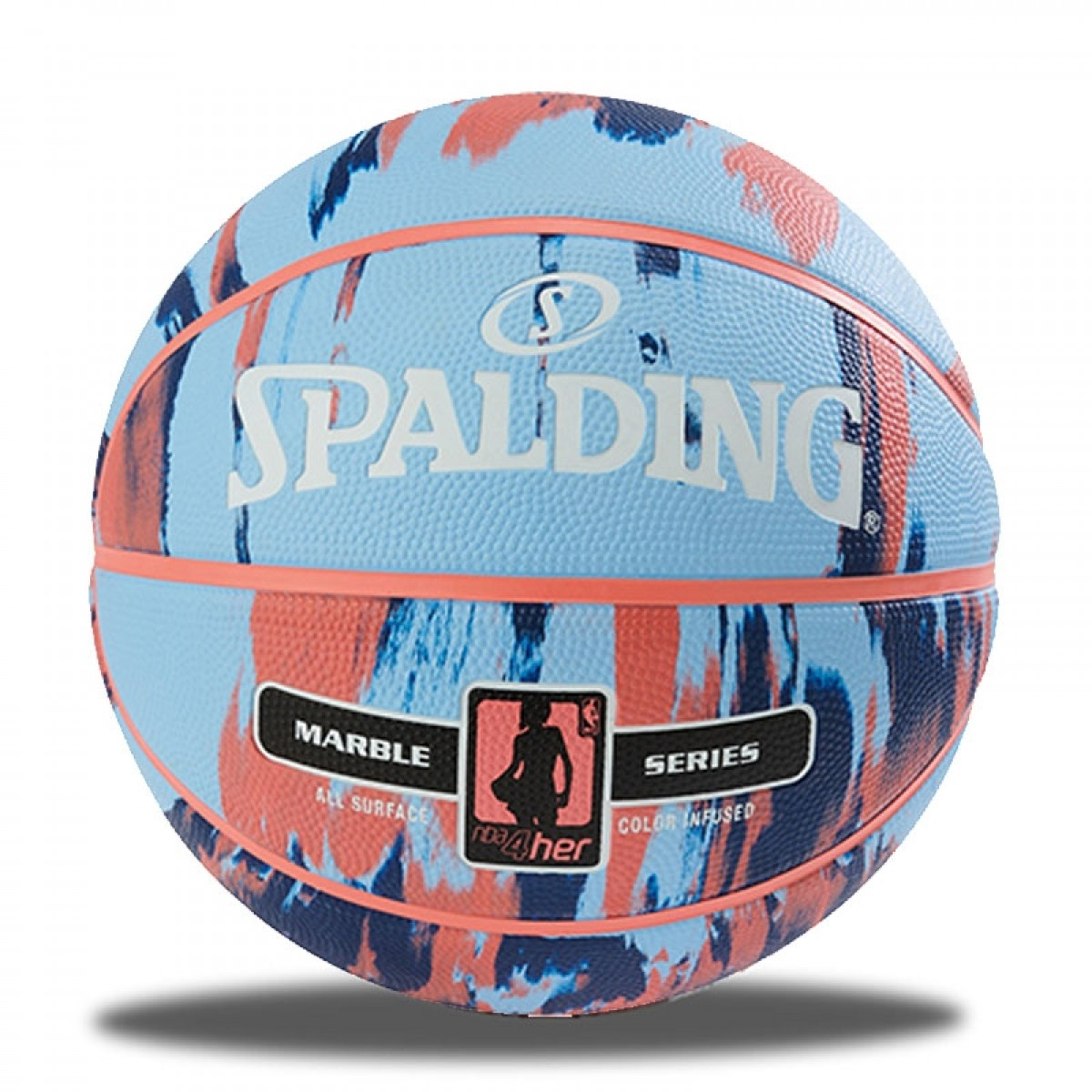 Spalding NBA Marble 4HER 'Blue'