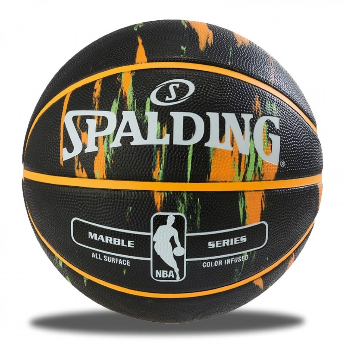 Spalding NBA Marble 'Black'