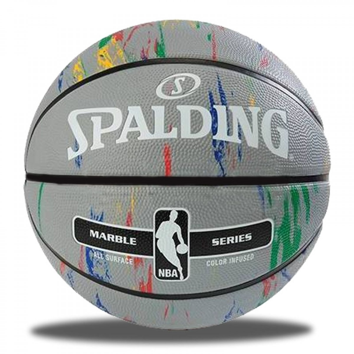 Spalding NBA Marble 'Grey'