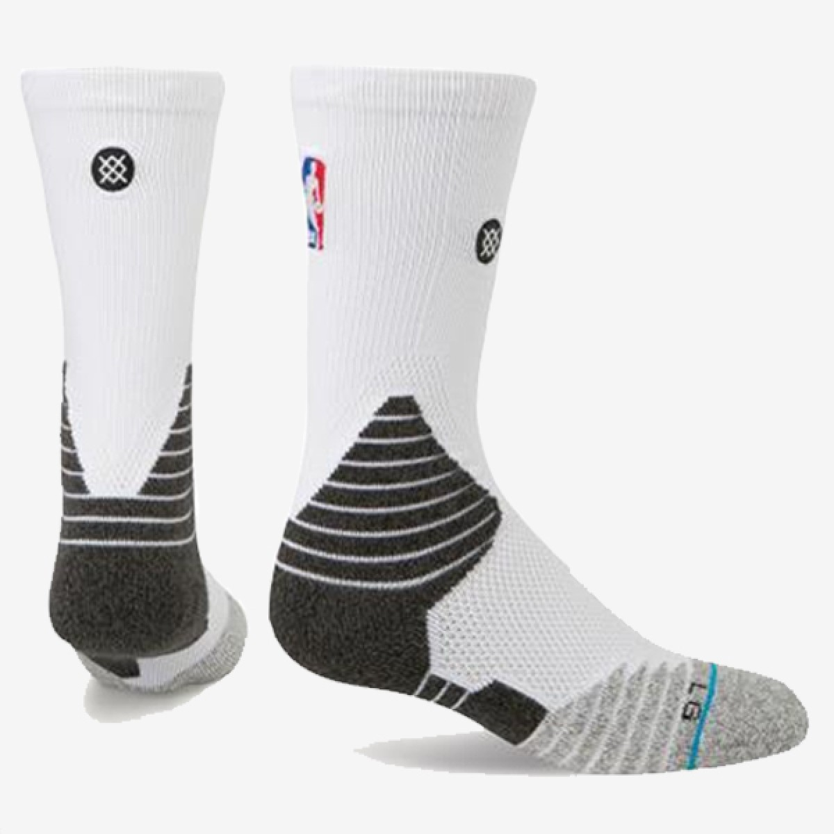 Stance NBA Solid Crew 'White'