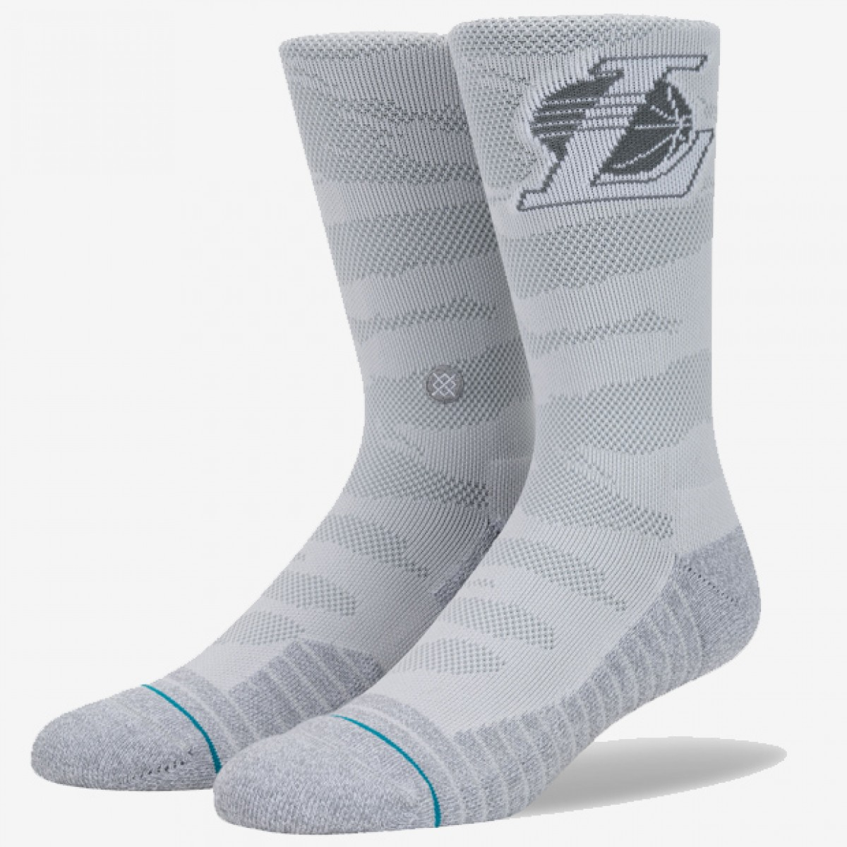 Stance Lakers Snow 'Light Grey' M557D17LAK