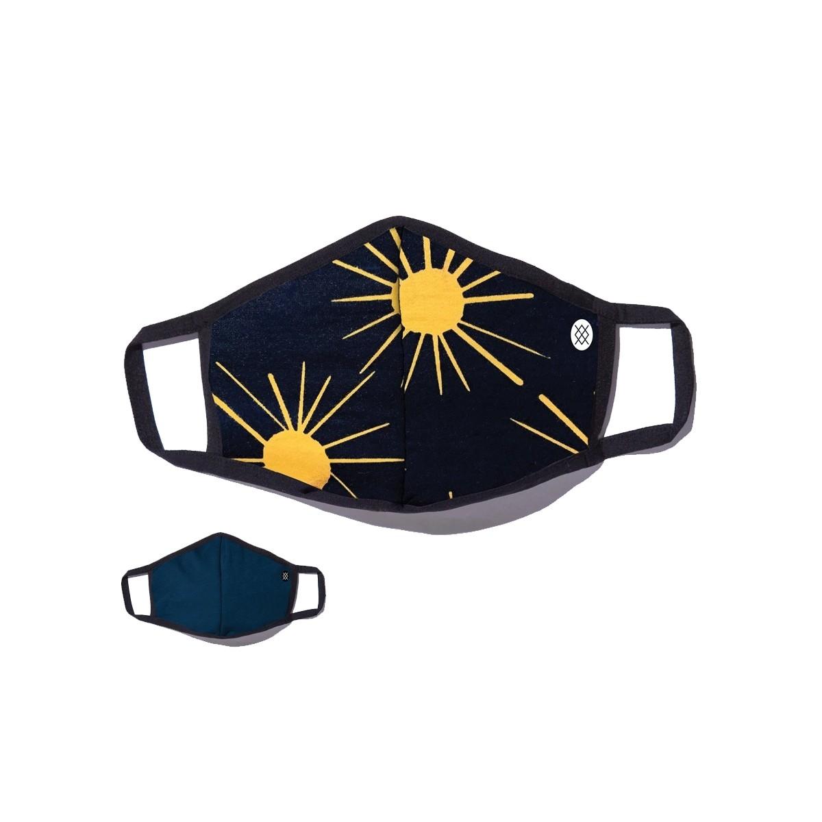 Mascarilla Stance Reversible 'Ablaze Sun'