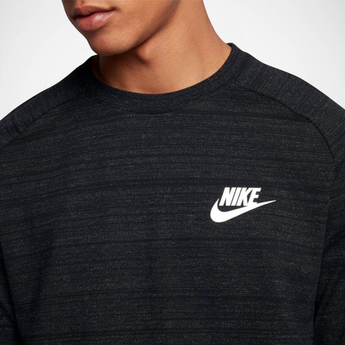 Nike Sportswear Advance 15 Crew 'Black' 861758-010