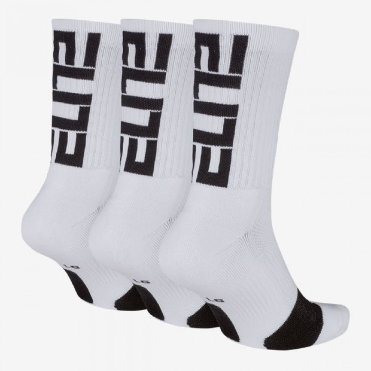 Nike Elite Crew 3 Pack Socks 'White' SX7627-100